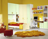 Cute Yellow Teenage Girls Bedroom Interior And Furniture Design