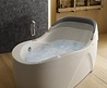 Comfort And Luxury Design Ergonomic Whirlpool Bathtub Ideas