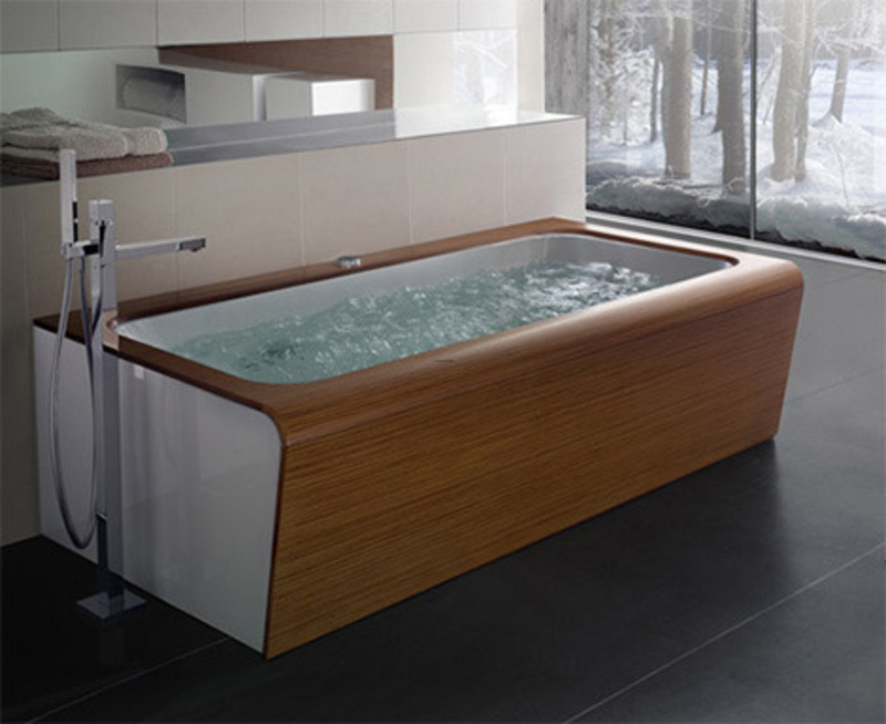 Whirlpool Tub Design Ideas, Whirlpool Bathtub Furniture Design Ideas Box Style