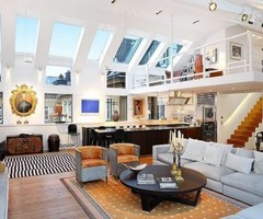 Amazing Stockholm Loft With 16 Feet Ceilings | DigsDigs