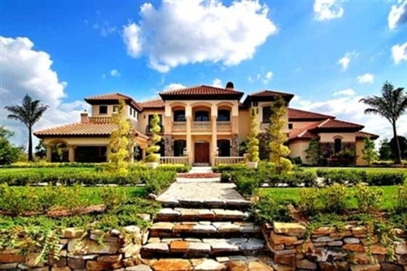 Tuscany stylr home estate by by award winning architect for Tuscany style homes