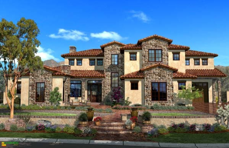 Tuscan home decor features design bookmark 8743 for Tuscany house plans