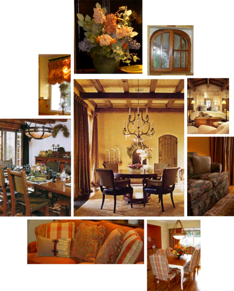 Tuscan decor design bookmark 8752 for Tuscan design