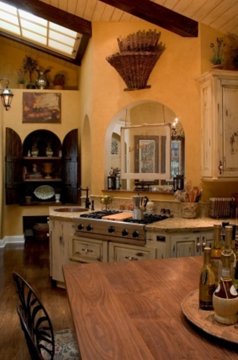 Old world tuscan kitchen memes for Tuscan kitchen design