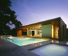 Green House Decorating Pool Ultra Modern Architecture Comes With Archway That Provides Sun Protection