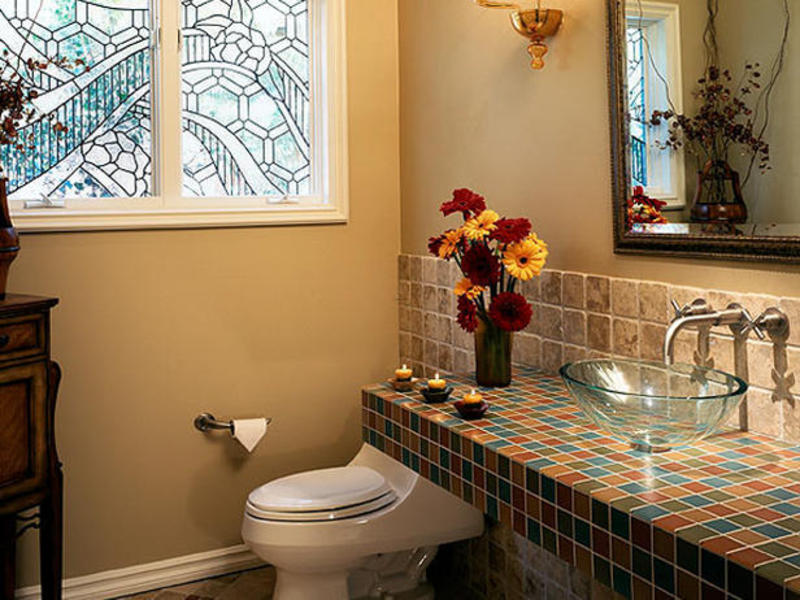 Mediterranean Bathrooms From Bonnie Sachs Designers 39 Portfolio 108 Home Design Bookmark 8770