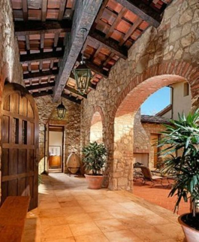Tuscan Style Homes What Makes Tuscan Landscape Design So Elegant