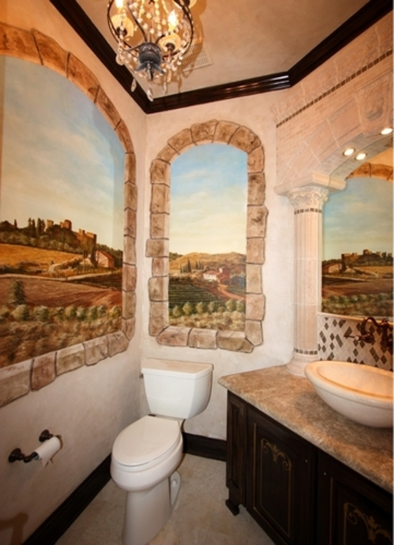 Tuscan Bathroom Designs / design bookmark #8797