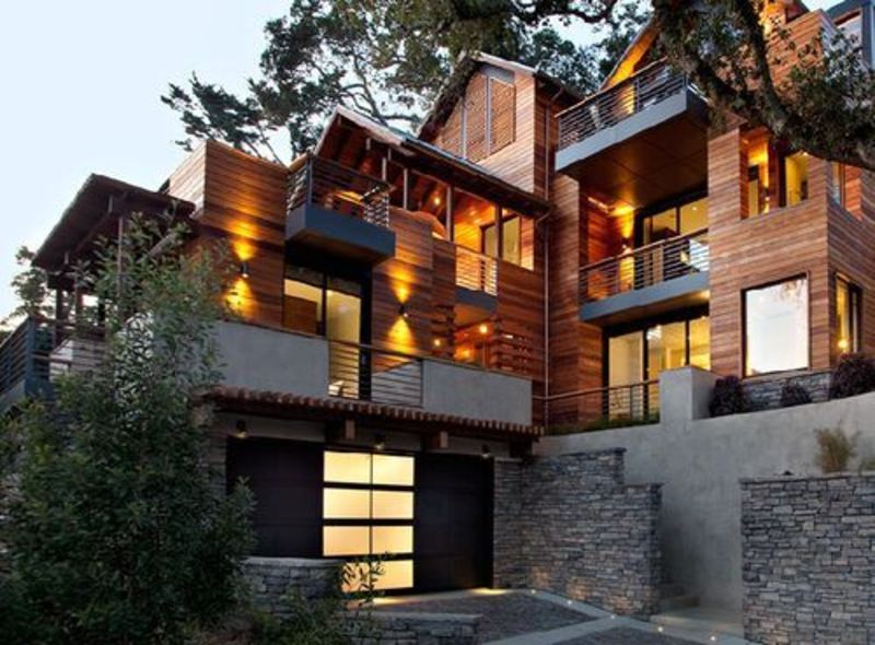 Green Architecture Hillside House Marin County