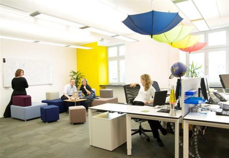 Google Spain Office Interior Design And Furniture By Degw