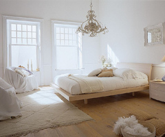 Eclectic Bedroom With Light Theme