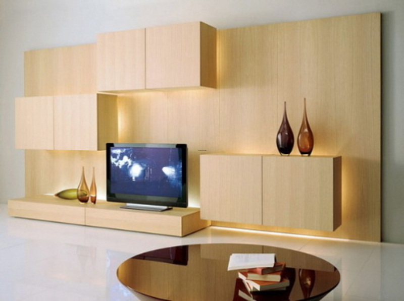 modern modular shelves and contemporary accesories wall
