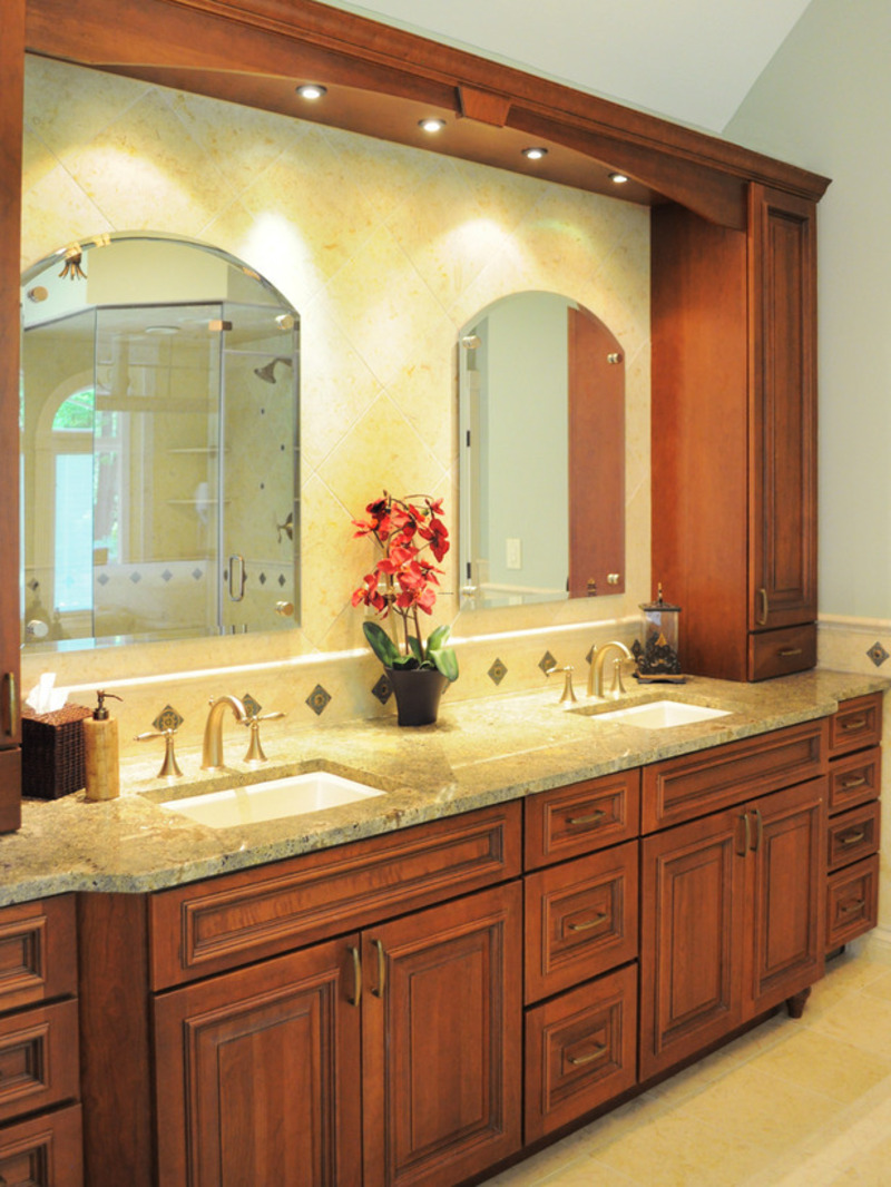 Tuscan Bathrooms From Laura A. Suglia