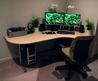 Corner Workspace 2009 For Small Office Design Ideas