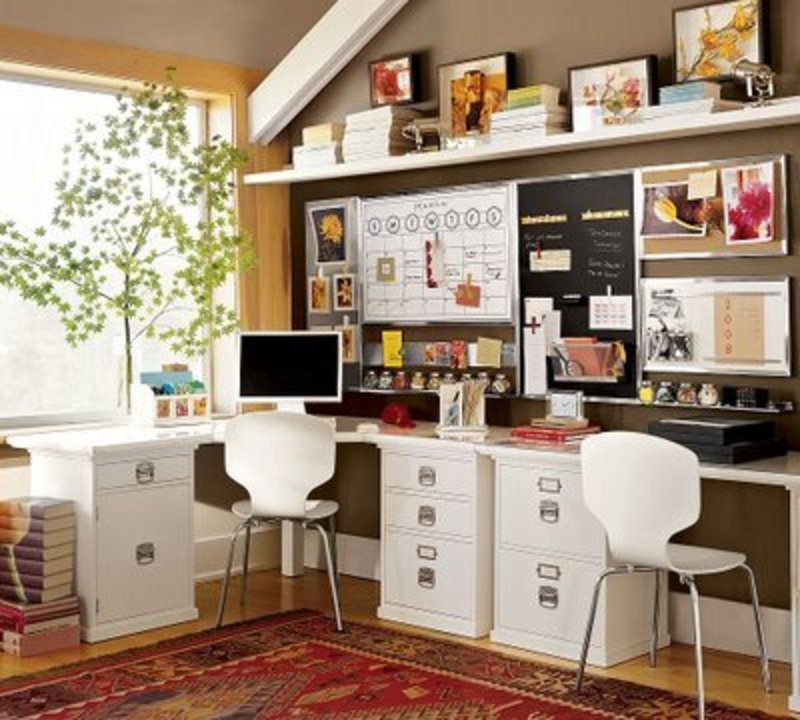 Small space desk ideas joy studio design gallery best - Office studio design ideas ...