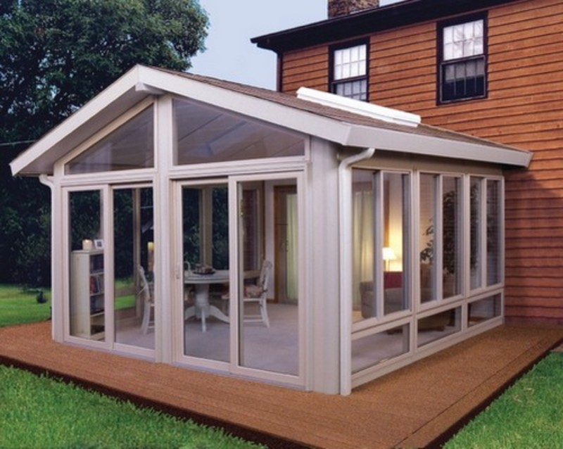 How to build an enclosed patio design bookmark 8878 for Backyard sunroom