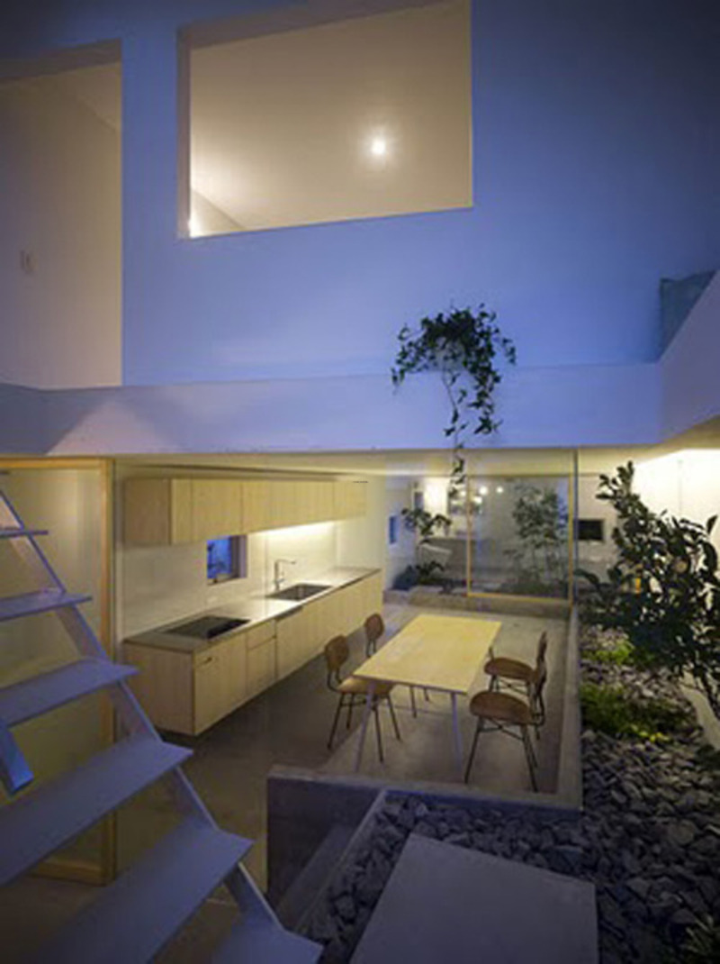Minimalist Japanese House Indoor Garden Design Design