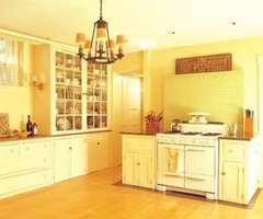 Stylish Yellow Kitchen Cabinet And Model / Sample Designs And Ideas Of Home House And Office