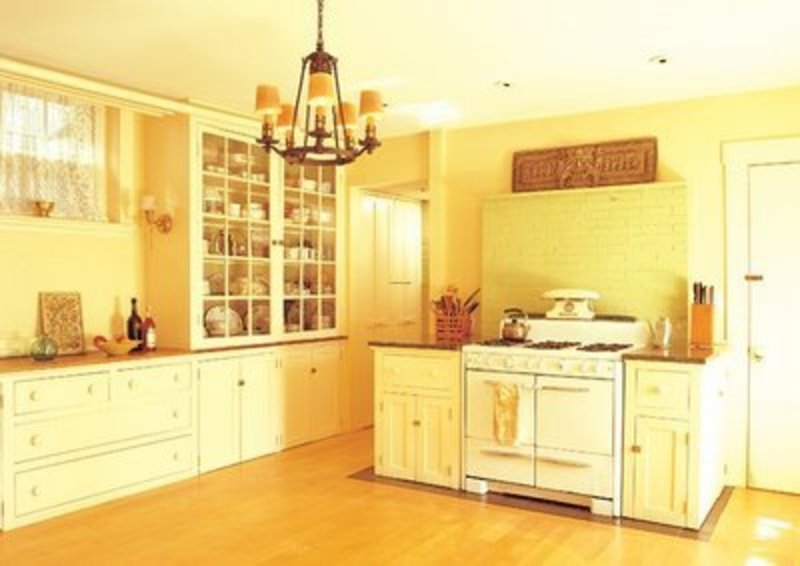 Stylish yellow kitchen cabinet and model sample designs for Bathroom cabinet yellow