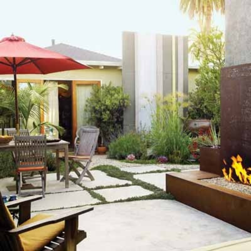 Backyard Renovation Ideas : Small Backyard Ideas, Amazing Backyard Makeover