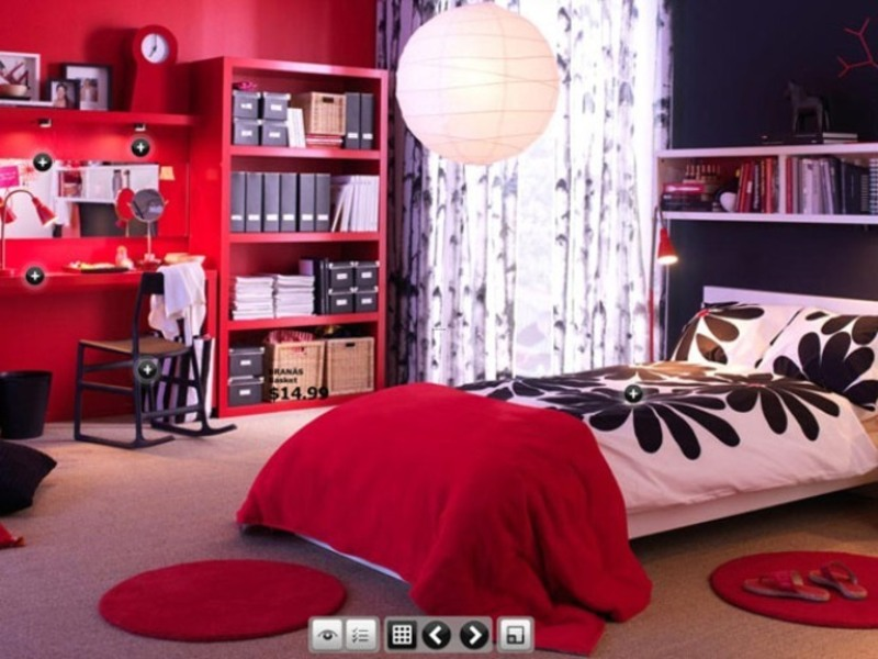 Ikea Teen Room, Ikea Dorm Room Design And Decorating For Teens And Kids