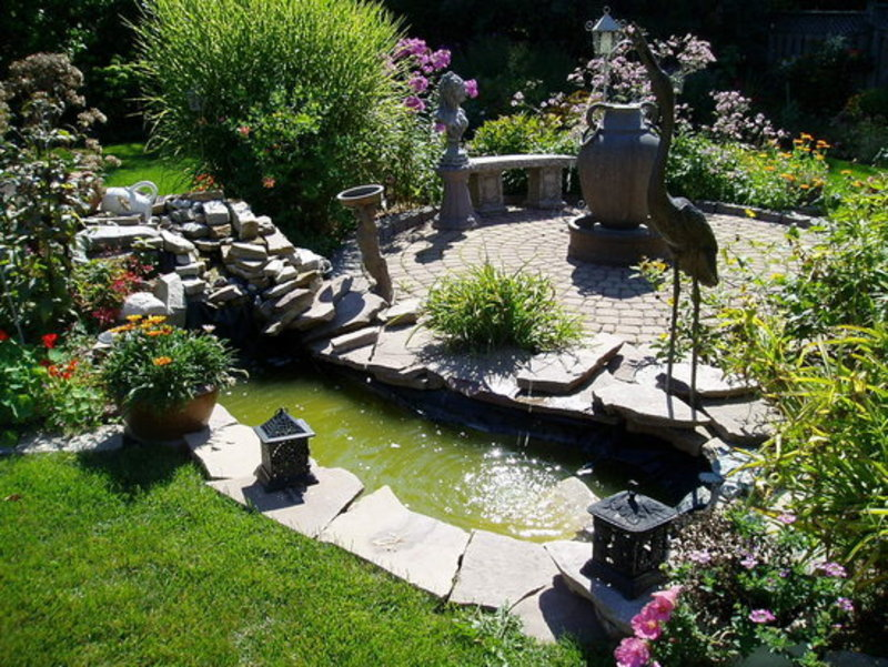Small Backyard Landscaping Ideas design bookmark 9009