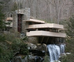 Fallingwater House, Frank Lloyd Wright
