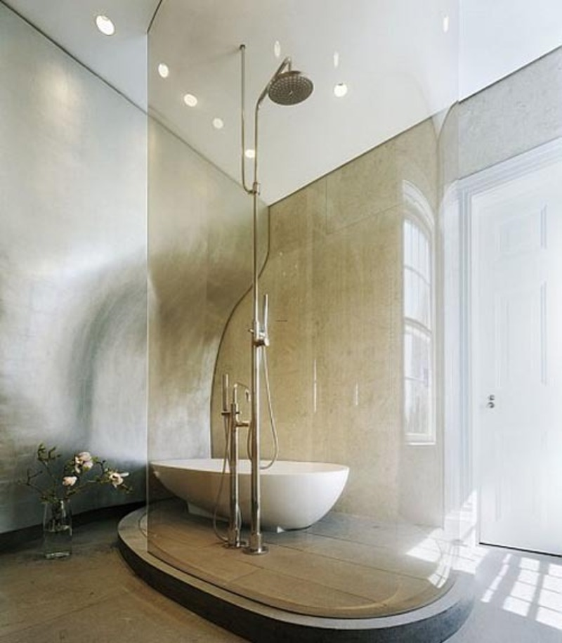 Luxury Bathroom Shower Design / Design Bookmark #9090