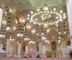 Photo Of The Prophet's Mosque, Medina