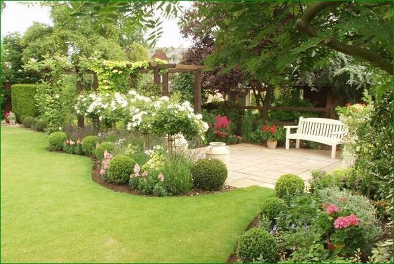 Image result for guidelines For creative domestic lawn Landscaping