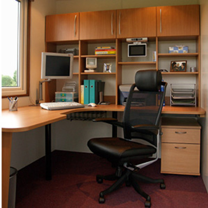 Small space home office design ideas home design online for Small room office