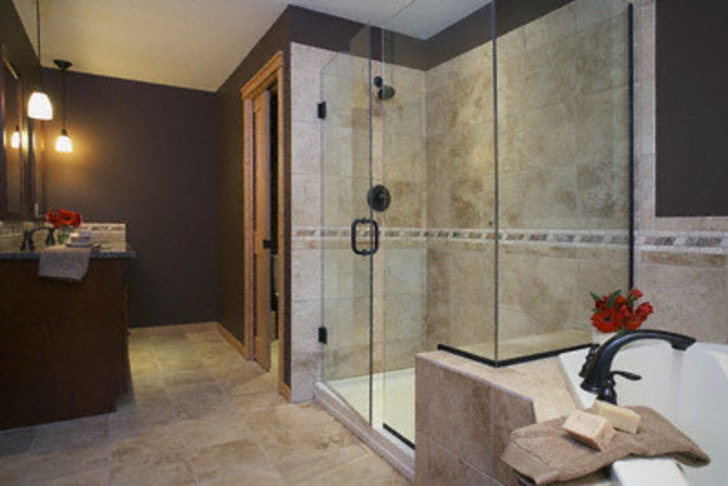 Beautiful Modern Bathroom Decorating Ideas With Shower Design Design