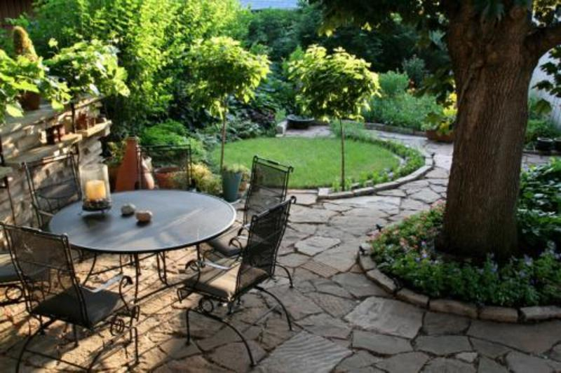 Ideas 4 you tuscan style backyard landscaping pictures japan for Yard landscaping ideas