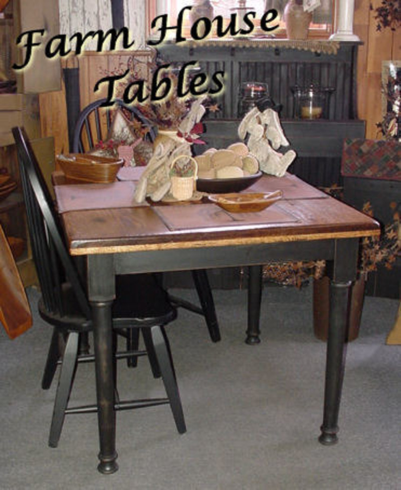 Farmhouse Table And Chairs, Farmhouse Kitchen Table And Chairs