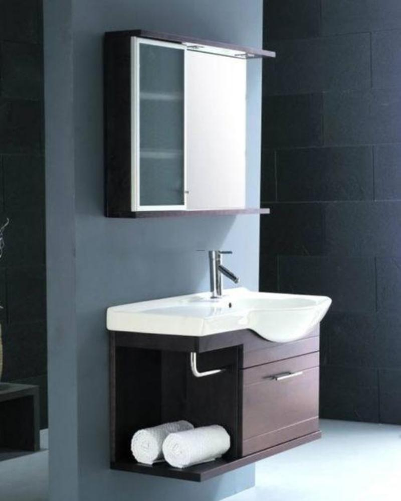 Brand new bathroom vanity sink cabinet mirror design for Latest bathroom sink designs