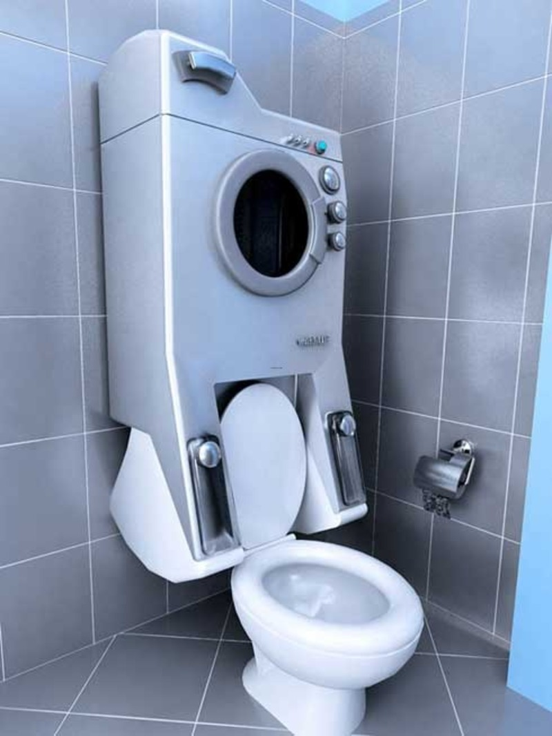 Small toilet design bookmark 9245 for Small wc design