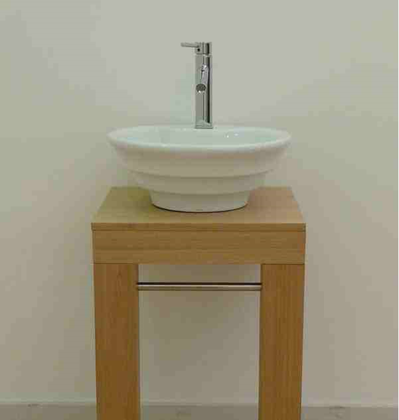 Vanity Bowl Sink : Bathroom Vanity Sinks, Ceramic Bathroom Vanity With Bowl Sink