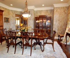 Country Look In Dining Room