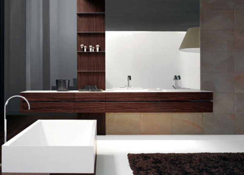 Contemporary bathroom from milldue the kubik design for Ultra modern bathroom