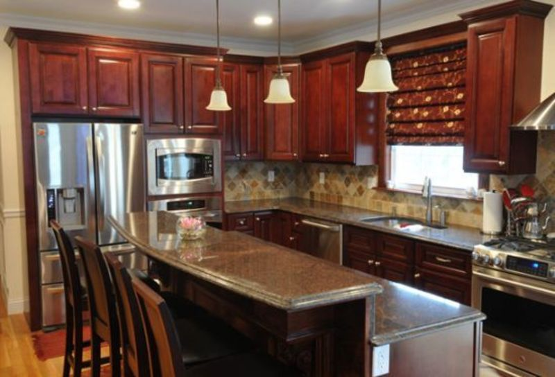 Incredible Mahogany Dark Maple Kitchen Cabinets 800 x 544 · 83 kB · jpeg