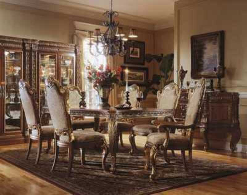 Traditional dining room furniture design design bookmark for Traditional dining room ideas