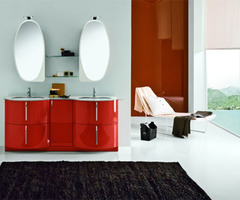 Retro Modern Bathroom Furniture – Topazio From Stemik Living /  Home Trends