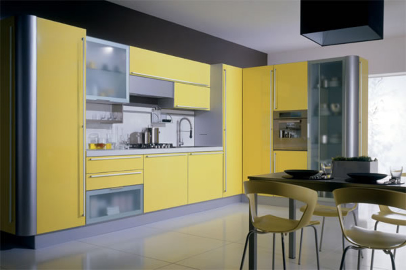 Yellow Kitchen Cabinets, Photos Of Yellow Kitchen Cabinets And Countertops