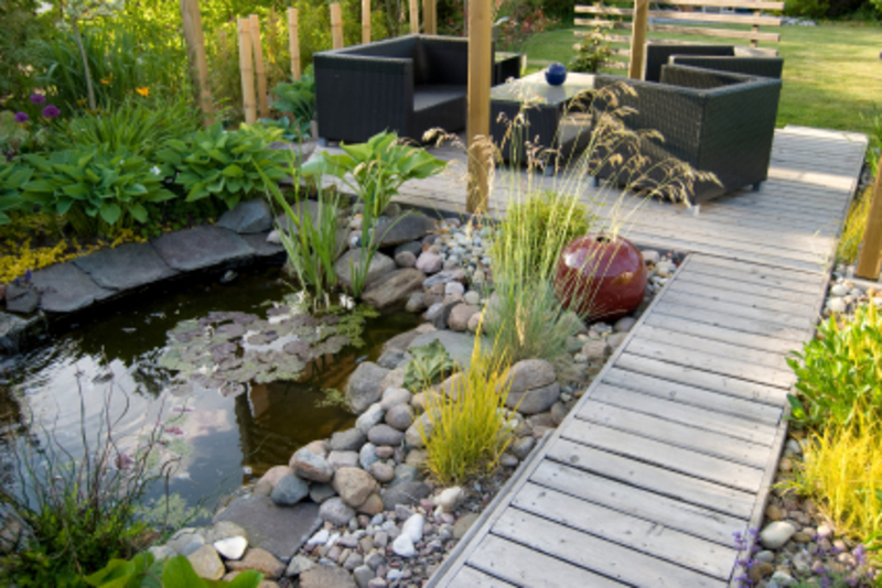 Landscaping ideas small backyard gardens