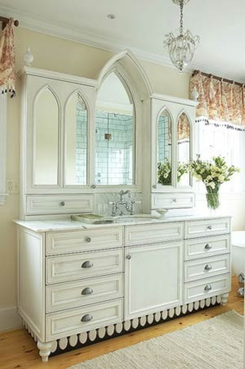 Bathroom Vanity Ideas 2011 White Bathroom Vanity Photos Design Ideas