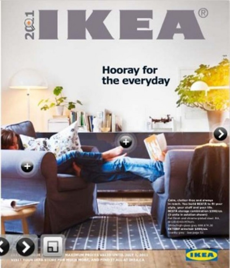 Proposals From Ikea Catalogue 2011 Design Bookmark 9505