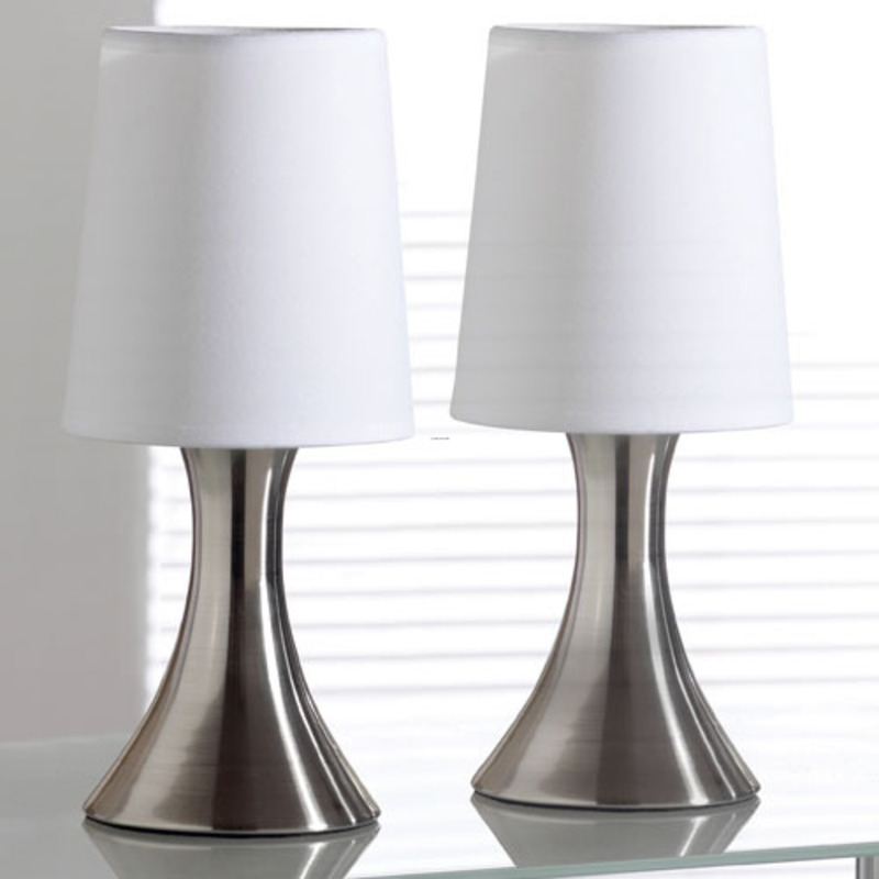 Table Lamps For Bedroom, Touch Table Lamps