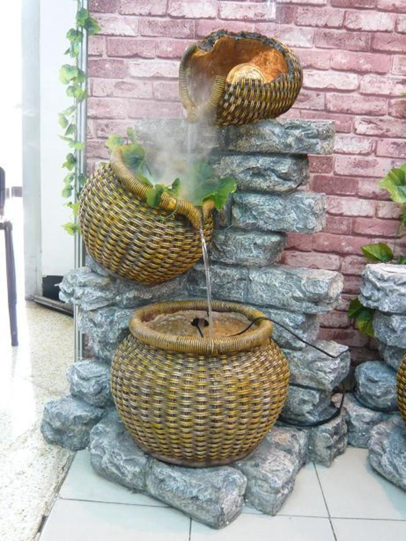 Garden Water Fountains Tm2189 Design Bookmark 9593