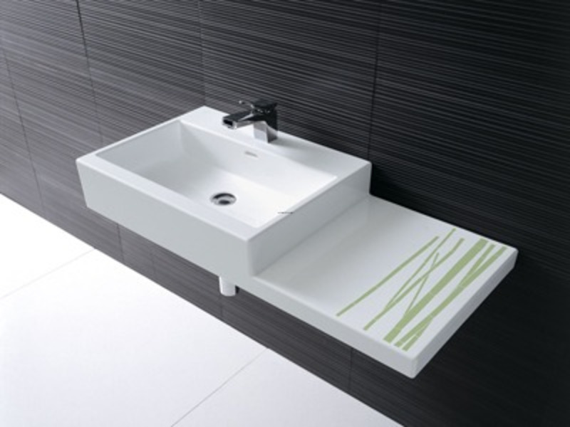 Living city bathroom sinks design from laufen design for Latest bathroom sink designs
