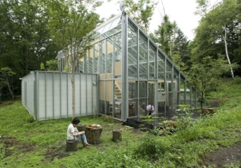 Pictures of greenhouse designs ideas architecture and Small green home plans